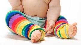 Maeva a testé les jambières bébé Huggalugs