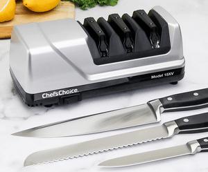 Test et avis sur l'aiguiseur de couteaux électrique Chef's Choice 15XV