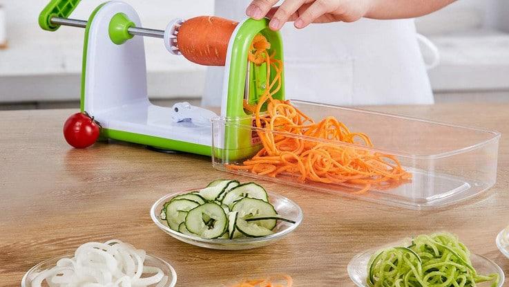 Comparatif meilleur spiralizer à légumes