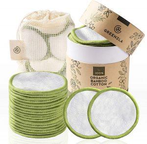 Coton démaquillant lavable Greenzla
