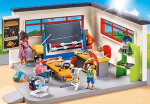 Avis et test sur la classe d'Histoire Playmobil 9455