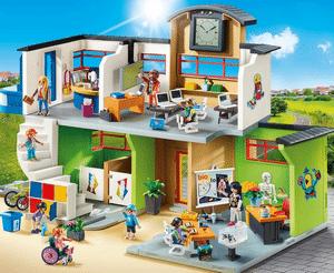 Avis et test sur la grande école avec installations Playmobil City Life 9453